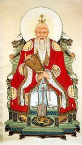 Lao-Tseu dans Le Livre des Mutations 180px-daodetianzun-169x300