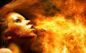 nature occulte ésotérique du feu